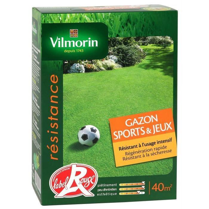 vilmorin gazon sports et jeux 1 kg comparer avec. Black Bedroom Furniture Sets. Home Design Ideas