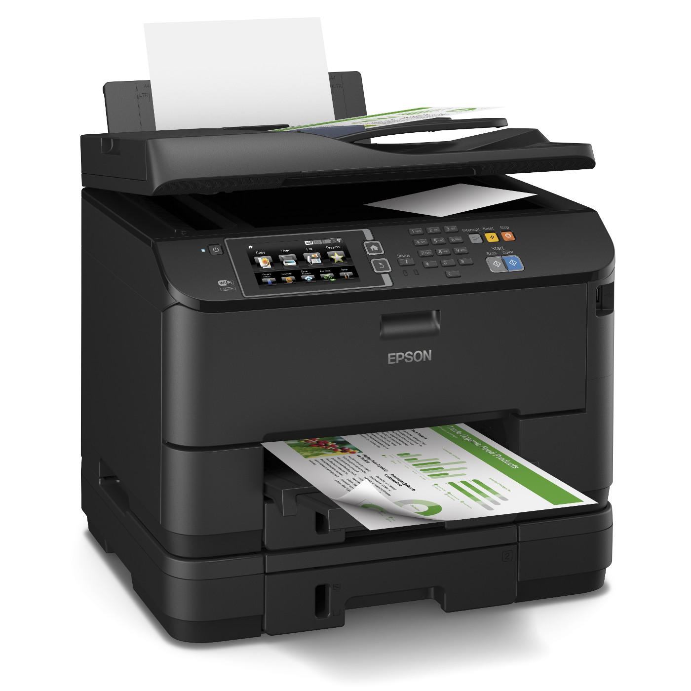 epson workforce pro wf 4640dtw imprimante multifonction. Black Bedroom Furniture Sets. Home Design Ideas
