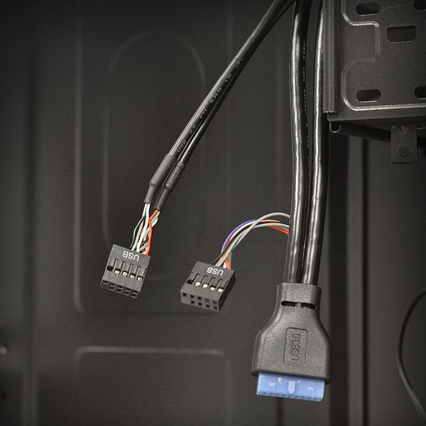 Advance 6405B30 - Boîtier Mini tour QUAD sans alimentation - Comparer avec Touslesprix.com