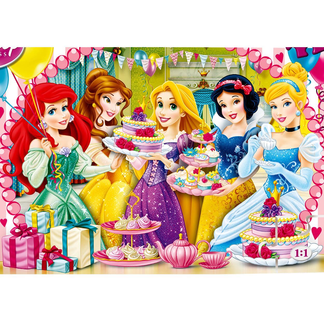 Clementoni Puzzle Disney Princesse Joyeux Anniversaire 2 X 20